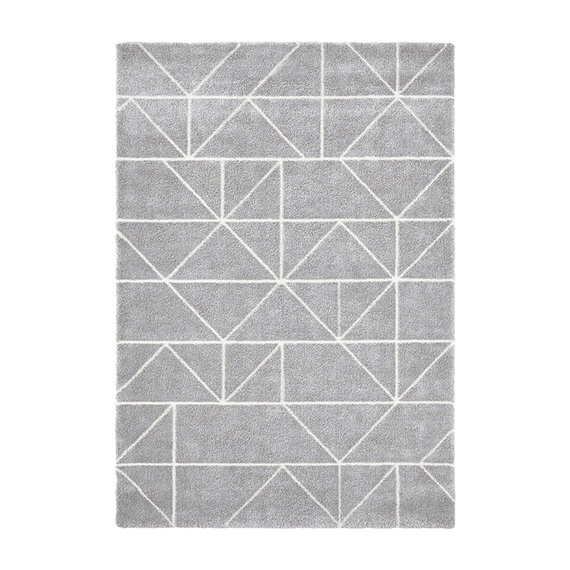 ELLE Decor Scandinavisch vloerkleed – Maniac Zilver Creme Arles