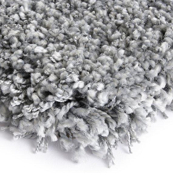 ELLE Decor Hoogpolig vloerkleed – Lovely Zilver Talence