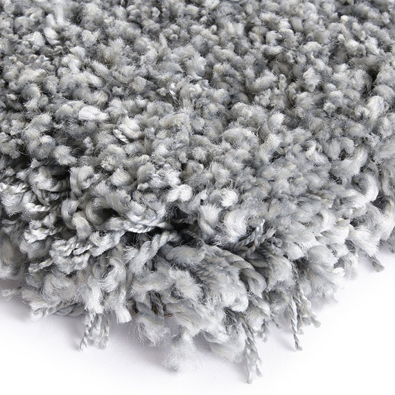 ELLE DECORATION Hoogpolig vloerkleed – Lovely Zilver Talence