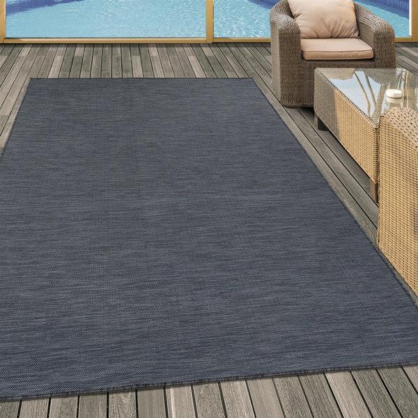 Adana Carpets Buitenkleed - Sunny Zwart