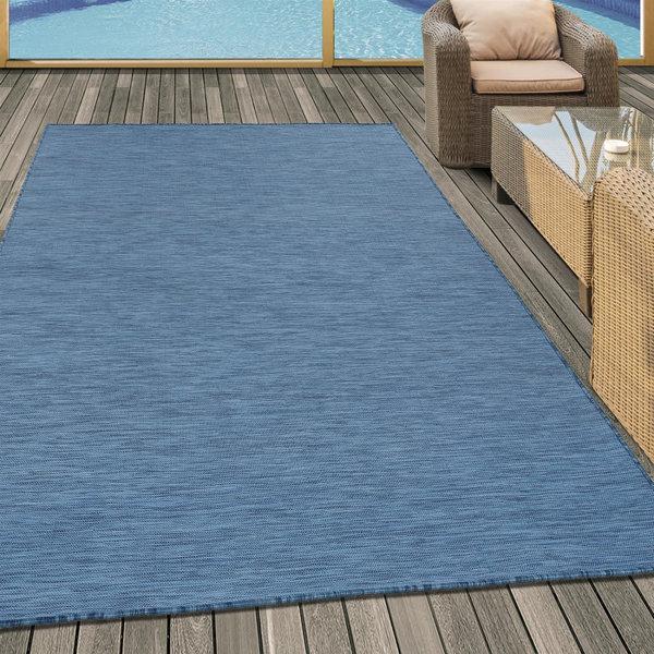 Adana Carpets Buitenkleed Sunny - Blauw