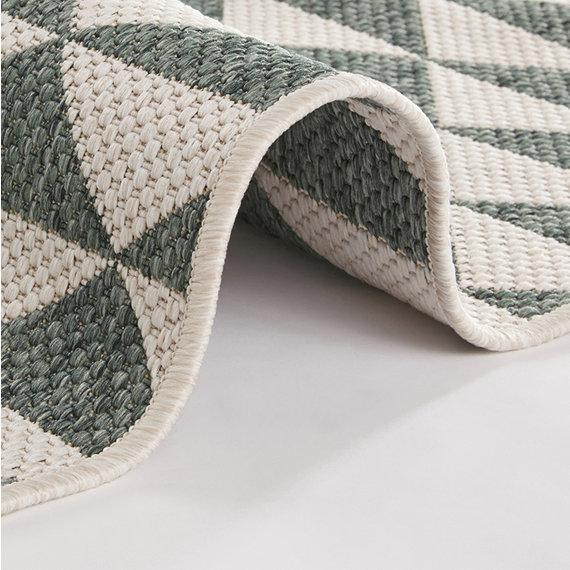 Bougari Vloerkleed - Tahiti Groen/Creme