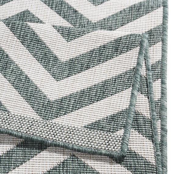 Bougari Vloerkleed - Palma Groen/Creme