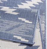 Bougari Buitenkleed - Malibu Blauw/Creme