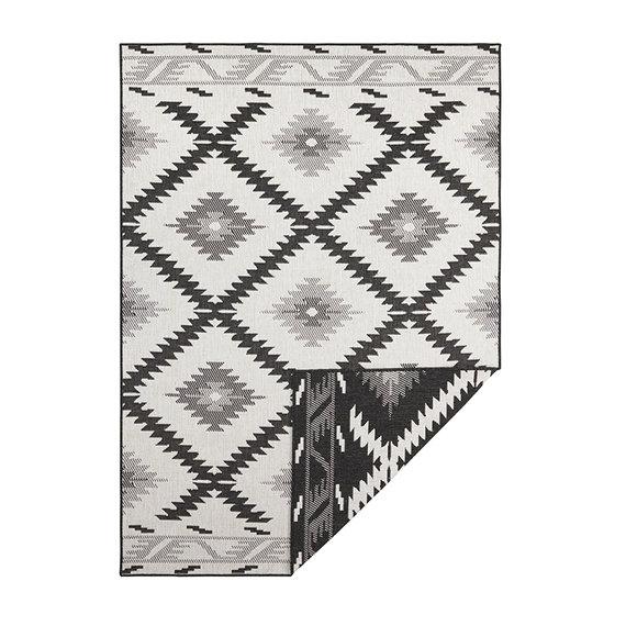 Bougari Buitenkleed - Malibu Zwart/Creme