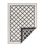 Bougari Vloerkleed - Sydney Zwart/Creme