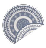Bougari Buiten vloerkleed - Jamaica Blauw/Creme