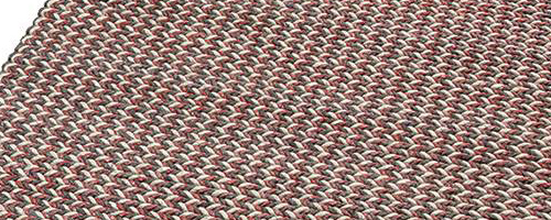 Vloerkleed gevlochten