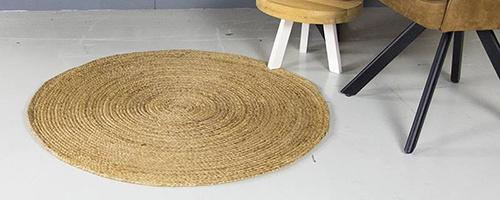 Ronde vloerkleden van 1 meter