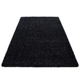 Adana Carpets Hoogpolig vloerkleed - Sade Zwart