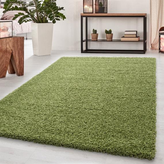 Adana Carpets Hoogpolig vloerkleed - Sade Groen
