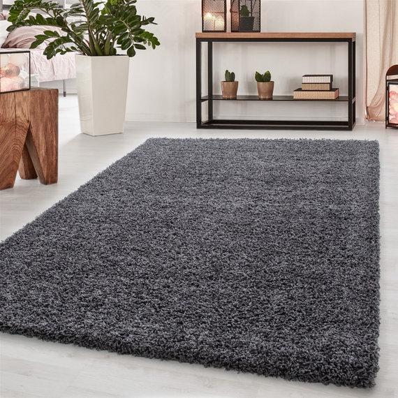 Adana Carpets Hoogpolig vloerkleed - Sade Grijs