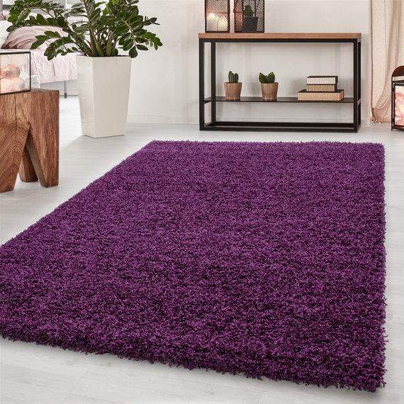Adana Carpets Hoogpolig vloerkleed - Sade Paars