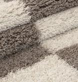 Adana Carpets Hoogpolig vloerkleed - Gala Beige