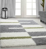 Adana Carpets Hoogpolig vloerkleed - Gala Groen