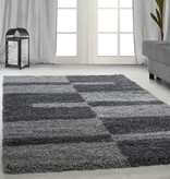 Adana Carpets Hoogpolig vloerkleed - Gala Grijs