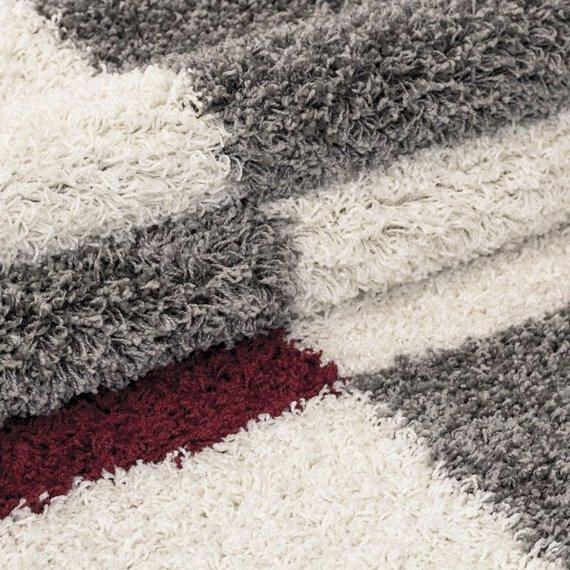 Adana Carpets Hoogpolig vloerkleed - Gala Rood