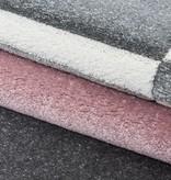 Adana Carpets Modern vloerkleed - Tetris Roze 1310