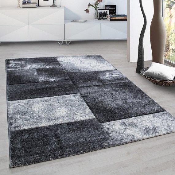 Adana Carpets Modern vloerkleed - Tetris Grijs 1710