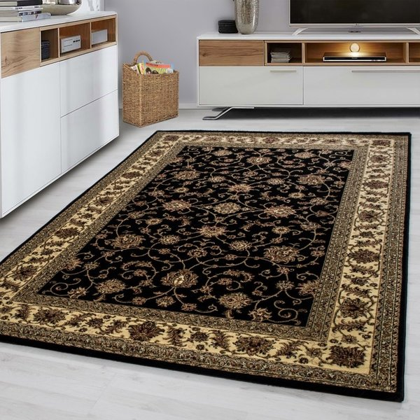 Adana Carpets Oosters vloerkleed - Marrakesh zwart 210