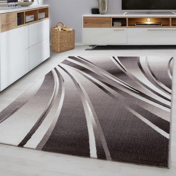 Modern vloerkleed - Jena Bruin 9210