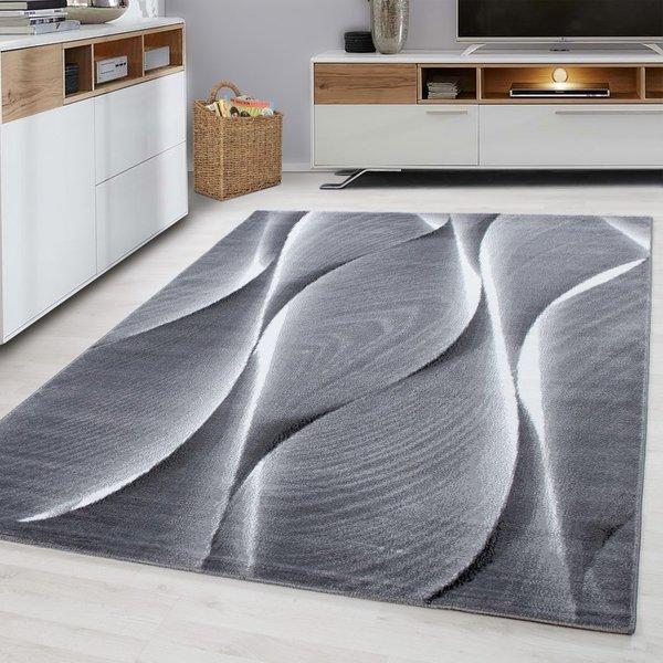 Modern  vloerkleed - Jena Zwart 9310