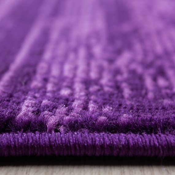 Adana Carpets Modern vloerkleed -Plus Paars 8000