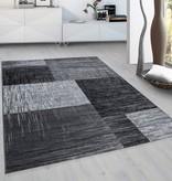 Adana Carpets Modern  vloerkleed - Plus Zwart 8001