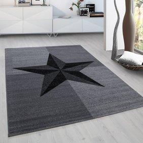 Adana Carpets Modern  vloerkleed - Plus Grijs 8002