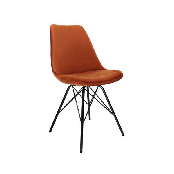 Stoel Velvet - Oranje