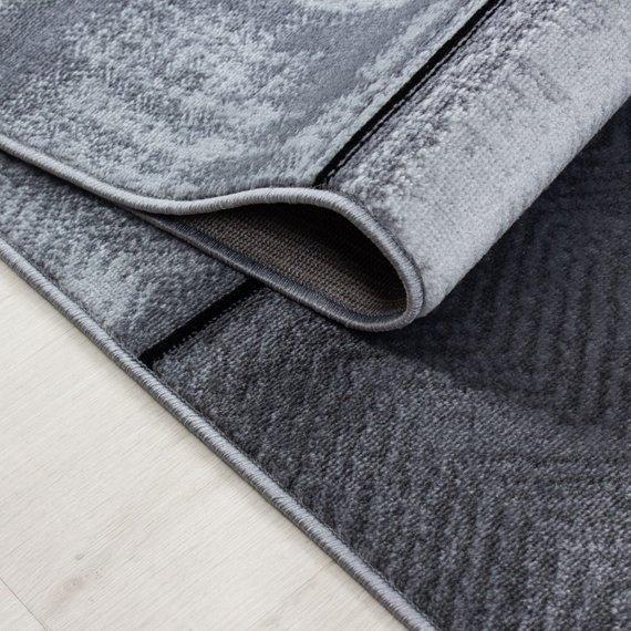 Adana Carpets Modern vloerkleed - Plus Zwart 8007