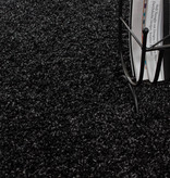 Adana Carpets Rond Hoogpolig vloerkleed - Life Antraciet