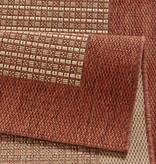 Hanse Home Klassiek vloerkleed - Natural rood