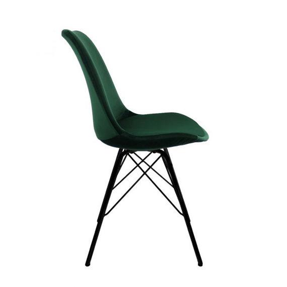 Kick Collection Stoel Velvet - donker groen