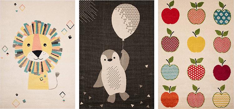 Kinderkleden met leuke prints & designs