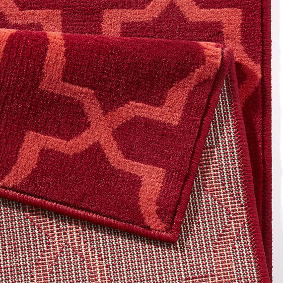 Hanse Home Moderne loper - Glam Rood