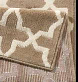 Hanse Home Moderne loper - Glam Bruin
