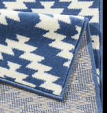 Hanse Home Moderne loper - Nordic Blauw