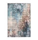 Kay Astec vloerkleed - Isa 300 Blauw/Bruin