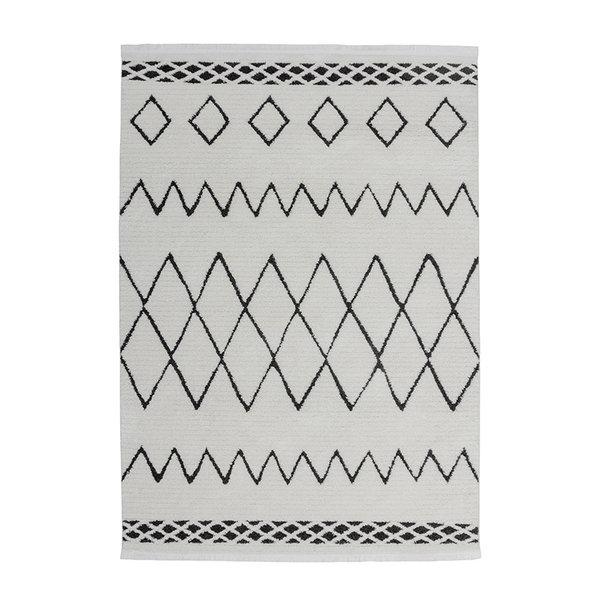 Berber vloerkleed - Agaat 310 Zwart/Wit
