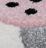 Kay Kindervloerkleed - Atlantisch Konijntje Roze
