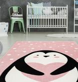 Kay Kindervloerkleed - Atlantisch Pinguin Roze
