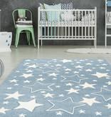 Kay Kindervloerkleed - Atlantisch Sterren Blauw