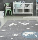 Kay Kindervloerkleed - Atlantisch Sterrenstelsel Zilver
