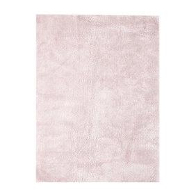 Kay Pastel vloerkleed - Basic Roze 110