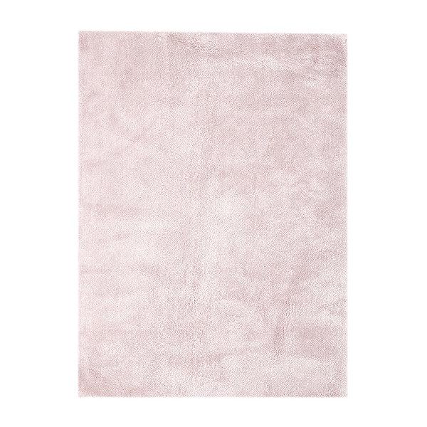 Pastel vloerkleed - Basic Roze 110