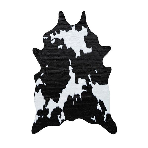 Kay Imitatie koeienhuid - Manila Koe Zwart