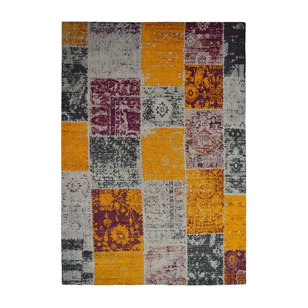 UITLOPEND- Patchwork vloerkleed - Solve 310 Gekleurd