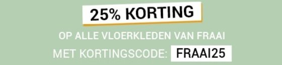 25% FRAAI Korting