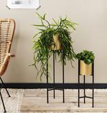 Lifa Living Metalen Plantenbak op Voet - Lily Goud 2/set